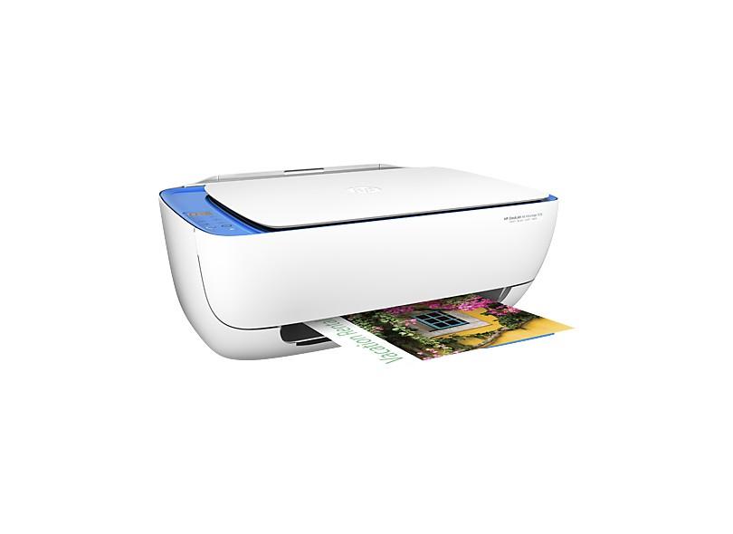 Multifuncional HP Deskjet 3636 Jato de Tinta Colorida Sem Fio