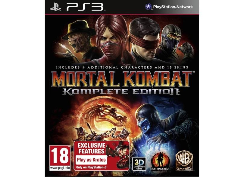 Jogo Mortal Kombat Komplete Edition Warner Bros PlayStation 3