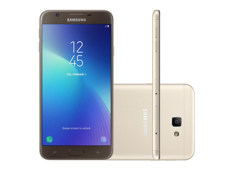 Smartphone Samsung Galaxy J7 Prime2 SM-G611M 32GB 13.0 MP 2 Chips Android 7.1 (Nougat) 3G 4G Wi-Fi