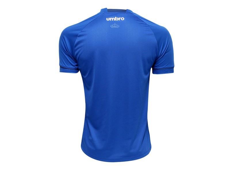 Camisa Torcedor Cruzeiro I 2018/19 Sem Número Umbro