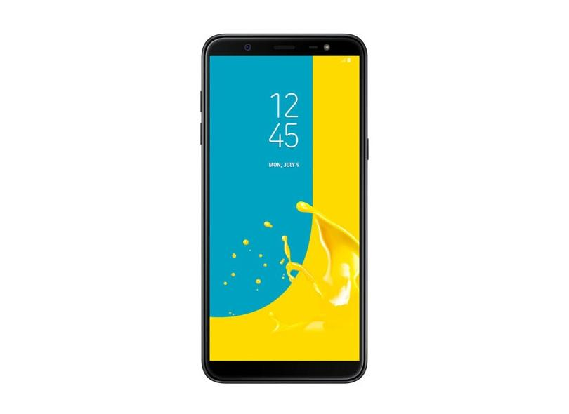 Smartphone Samsung Galaxy J8 SM-J810M 64GB 16 MP 2 Chips Android 8.0 (Oreo) 3G 4G Wi-Fi