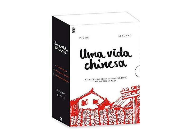 Uma Vida Chinesa - Caixa com 3 Volumes - P. Ôtié - 9788546901920