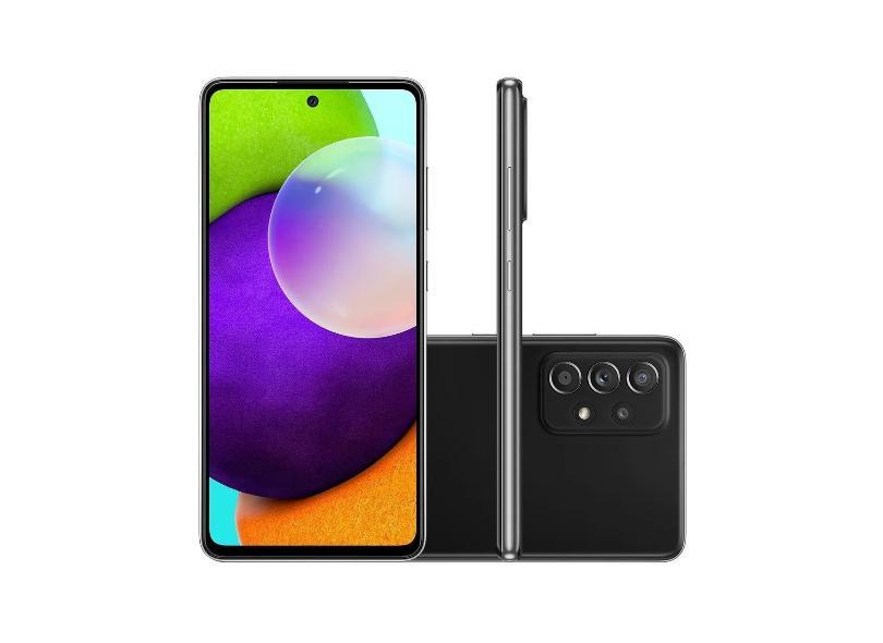 Smartphone Samsung Galaxy A52 SM-A525M 128GB Câmera Quádrupla 2 Chips Android 11