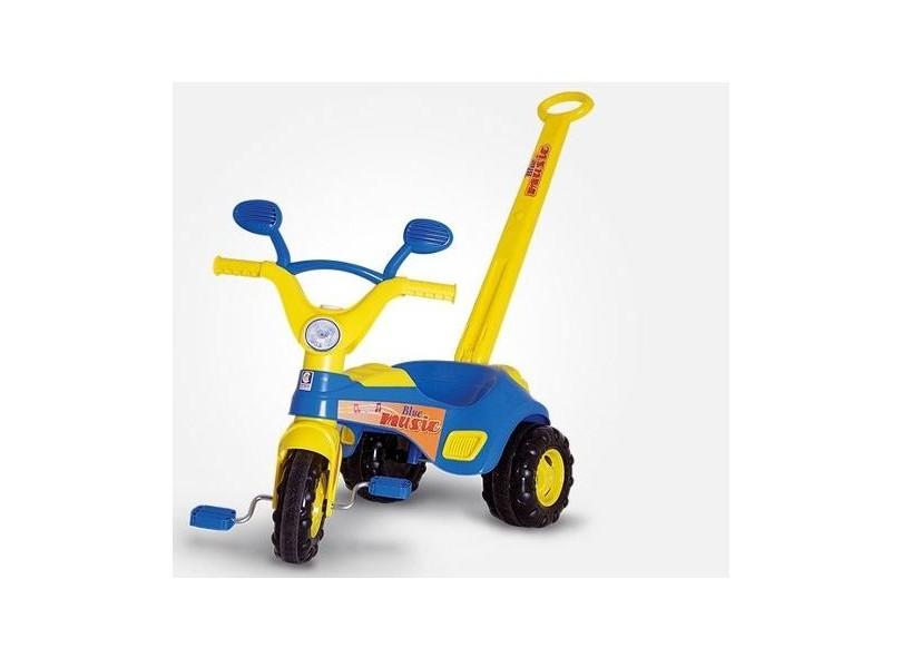 Triciclo com Pedal Cotiplás Music