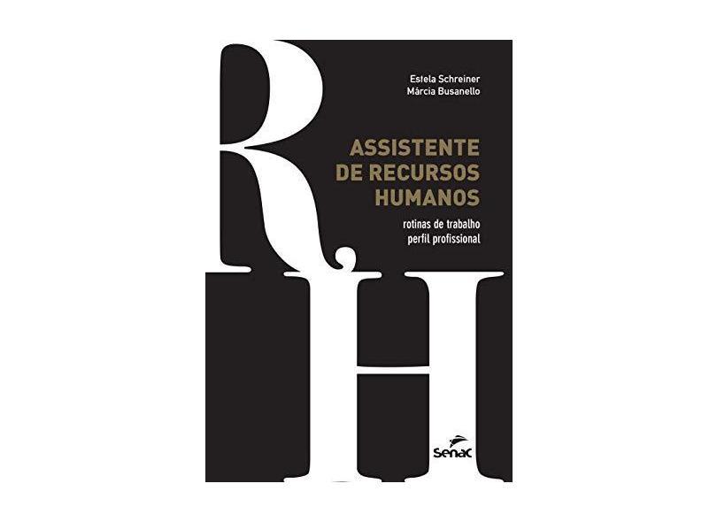 Assistente de Recursos Humanos - Estela Schreiner - 9788539622184
