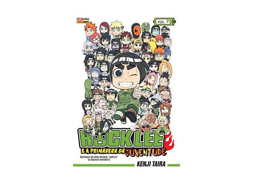 Rock Lee e A Primavera da Juventude - Vol. 7 - Taira, Kenji - 9788542613452