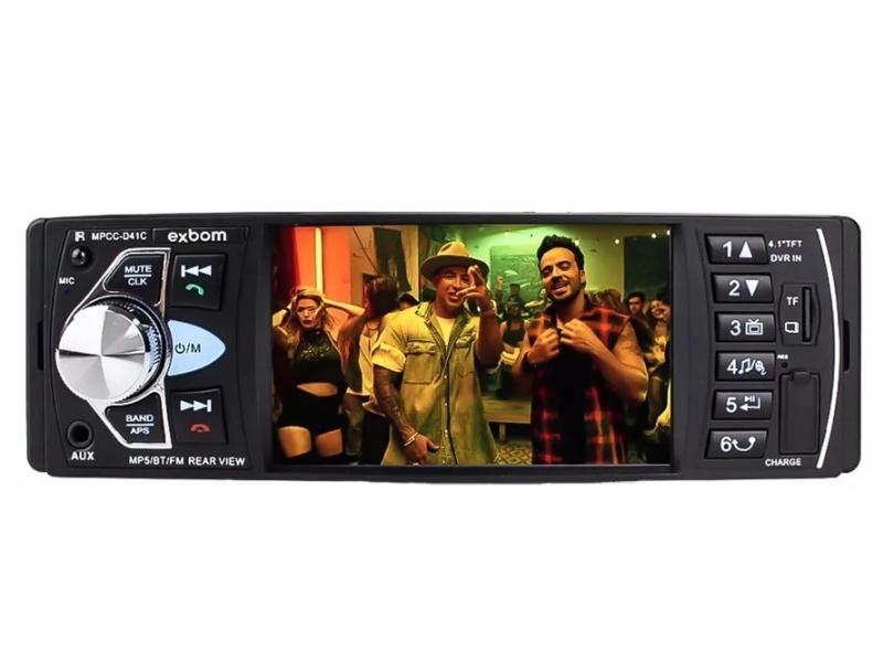 "DVD Player Automotivo Exbom 4 "" MPCC-D41C"