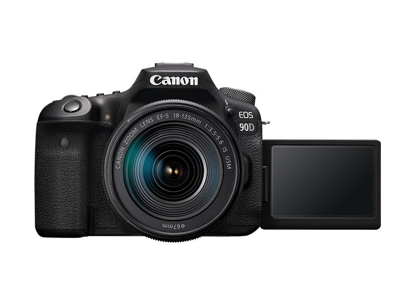 Câmera Digital DSLR(Profissional) Canon EOS 32.5 MP 4K 90D