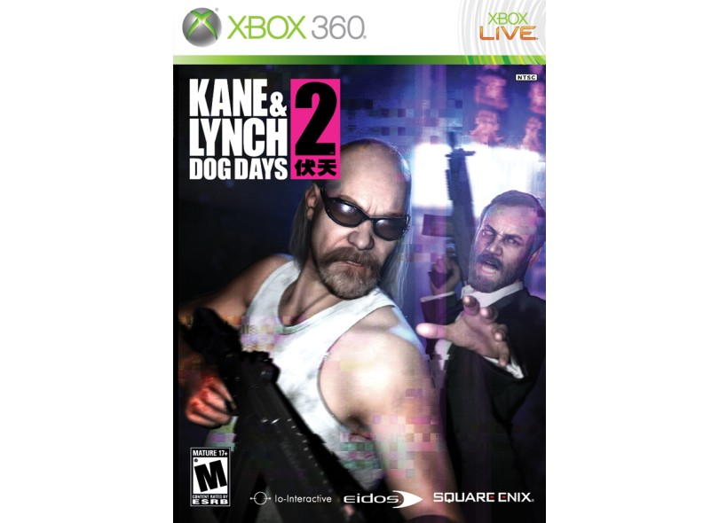 Jogo Kane & Lynch 2 Dog Days Square Enix Xbox 360