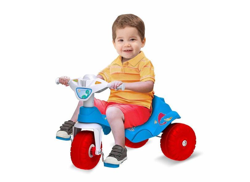Triciclo com Pedal Bandeirante Motoka Passeio & Pedal  Adventure 841