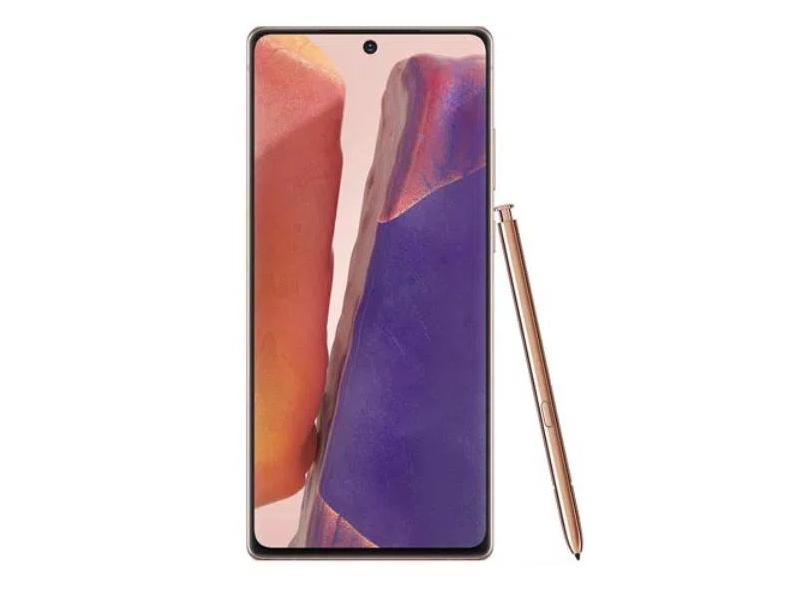 Smartphone Samsung Galaxy Note 20 5G SM-N981B 256GB Câmera Tripla 2 Chips Android 10