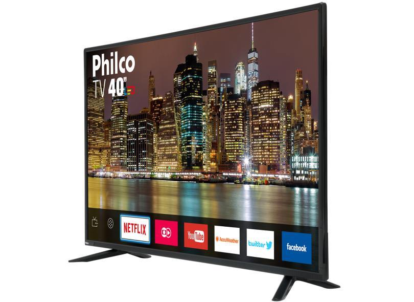 "Smart TV TV LED 40 "" Philco Full Netflix PTV40E60SN 3 HDMI"