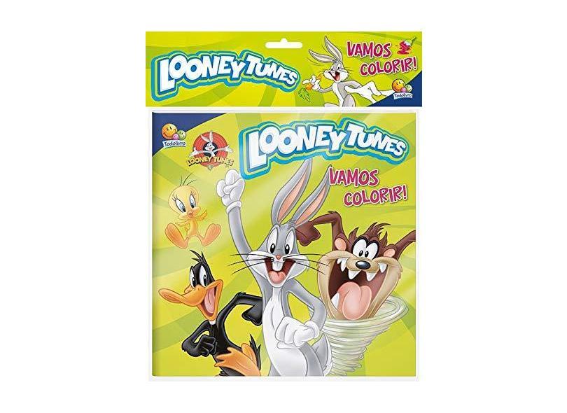 Looney Tunes - Coleção Vamos Colorir! (+ Lápis de Cor) - Vários Autores - 9788537624517
