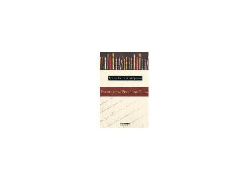 Estudos em Processo Penal - Queijo,maria Elizabeth - 9788589791236