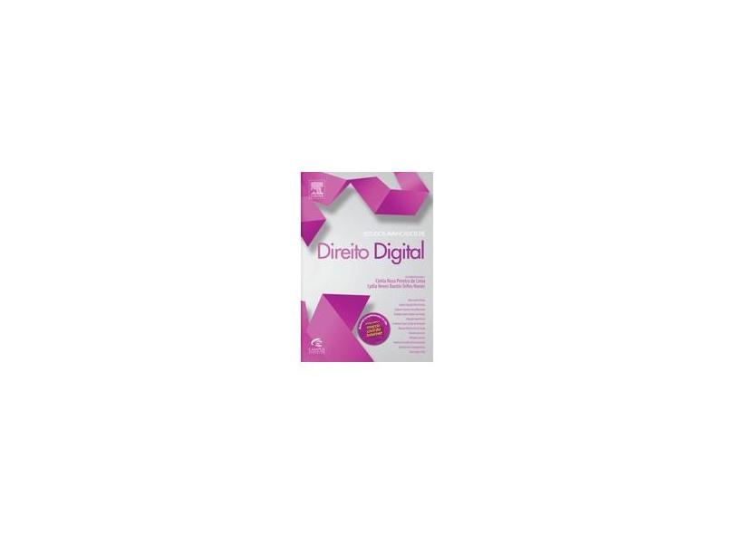 Estudos Avançados de Direito Digital - Nunes, Lydia Neves Bastos Telles; Pereira De Lima, Cíntia Rosa - 9788535276350