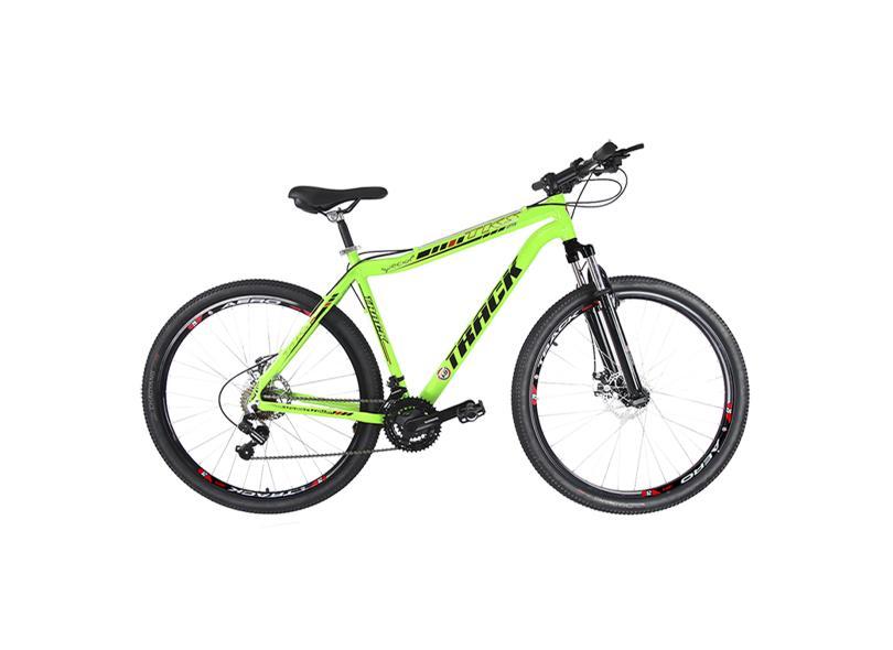 Bicicleta Mountain Bike Traks 21 Marchas Aro 29 Suspensão Dianteira a Disco TKS 29