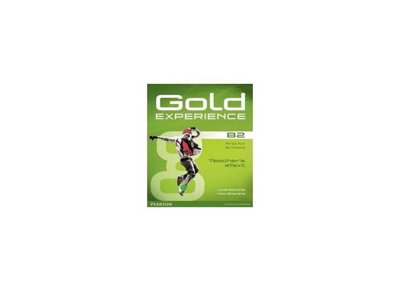 Gold Experience B2 Tb Etext Disc For Iwb B2 Tb 1E - Ms Lynda Edwards - 9781447919582