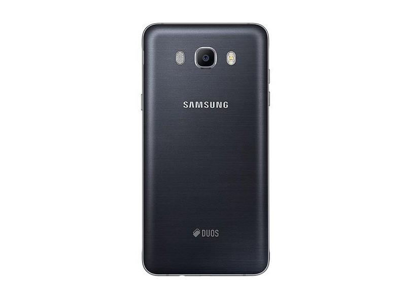 Smartphone Samsung Galaxy J7 2016 Metal J710 13,0 MP 2 Chips 16GB 3G 4G Wi-Fi
