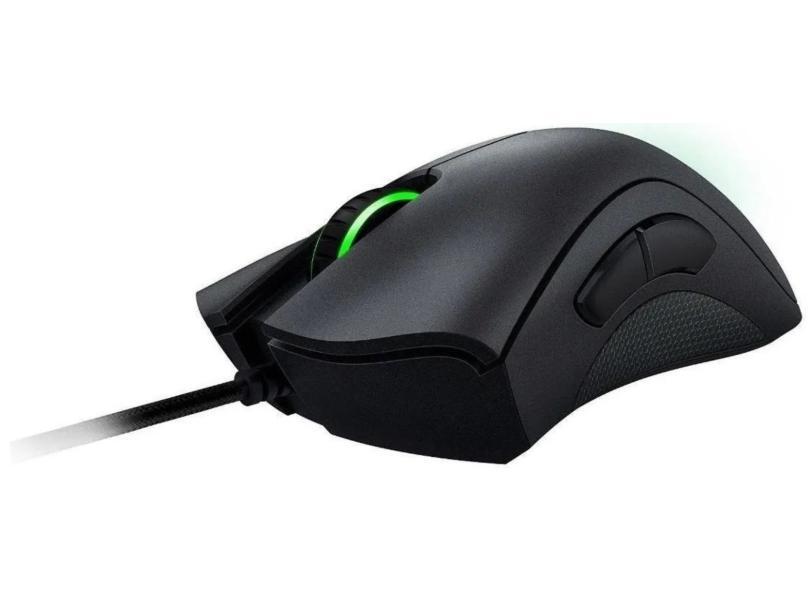 Mouse Óptico Gamer USB Deathadder Essential - Razer