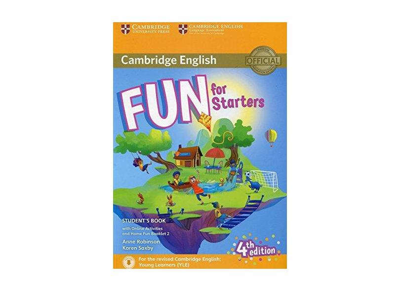 Fun for Starters Student's Book with Online Activities with Audio and Home Fun Booklet 2 - Anne Robinson - 9781316617465