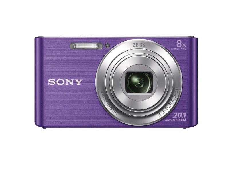 Câmera Digital Sony Cyber-Shot 20,1 MP HD DSC-W830