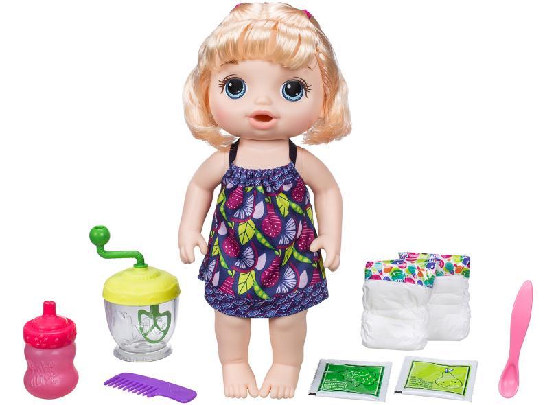 Boneca Baby Alive Papinha Divertida Hasbro