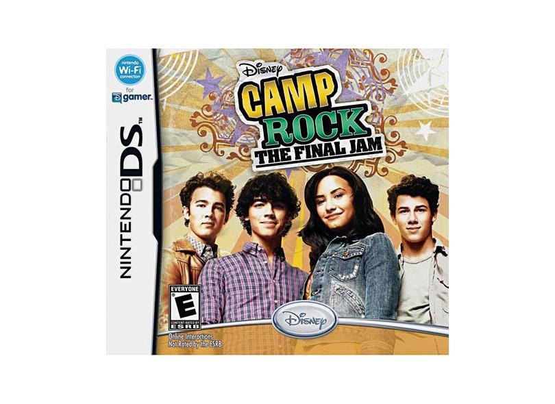 Jogo Camp Rock The Final Jam Disney NDS
