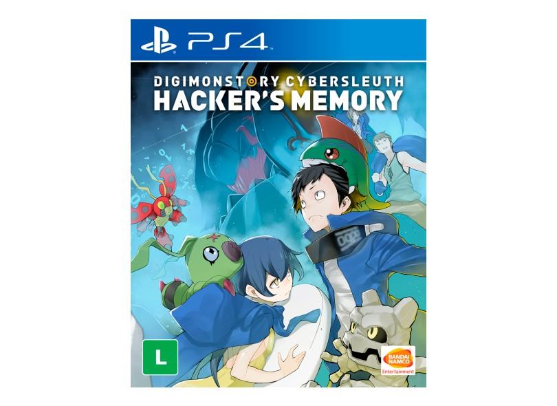 Jogo Digimon Story Cyber Sleuth Hacker's Memory PS4 Bandai Namco