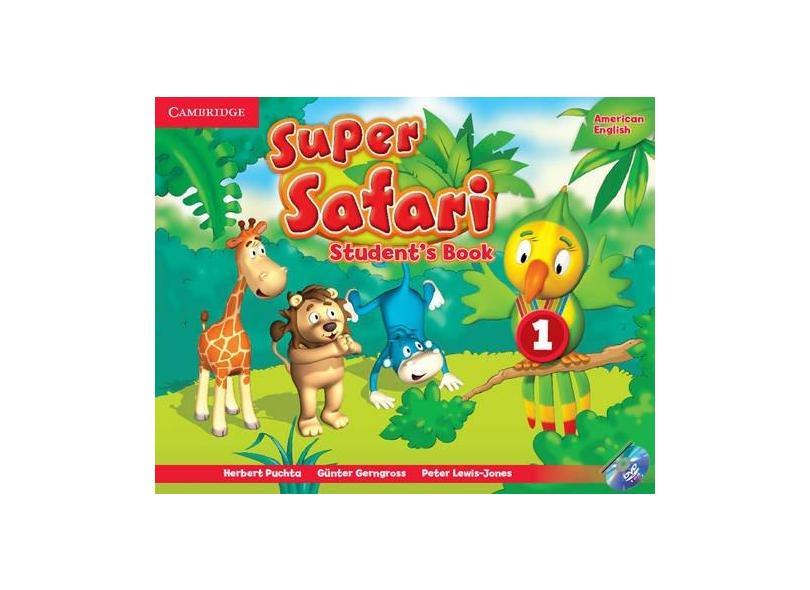 Super Safari 1 Amer Eng Sb W/Dvd Rom - Cambridge - 9781107481770