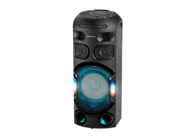 Mini System Sony MHC-V42D Ripping Karaokê Bluetooth HDMI USB NFC