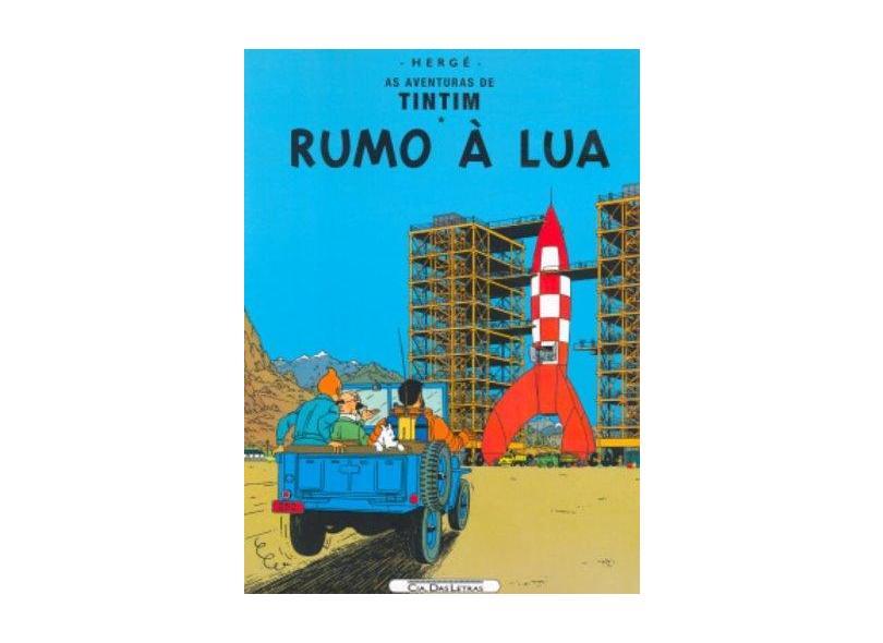 Rumo À Lua - Col. As Aventuras de Tintim - Herge - 9788535910506