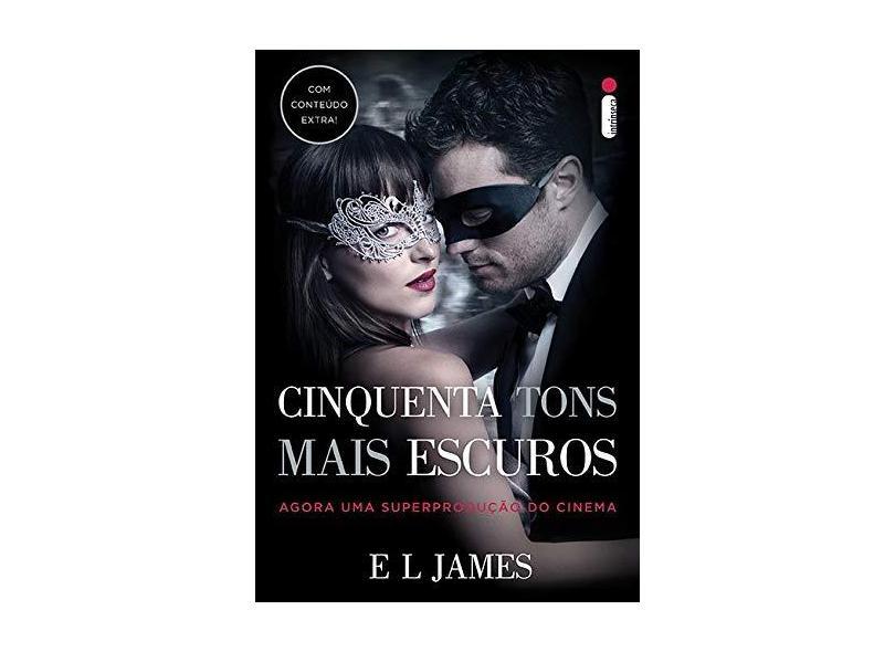 Cinquenta Tons Mais Escuros - Capa Filme - James, E L - 9788551001080