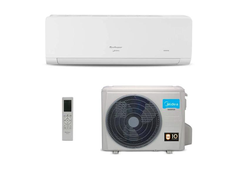 Ar-Condicionado Split Hi Wall Springer Midea Xtreme Save 12000 BTUs Inverter Controle Remoto Frio 42AGCA12M5/38AGCA12M5