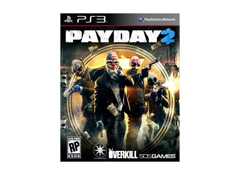 Jogo Payday 2 PlayStation 3 505 Games