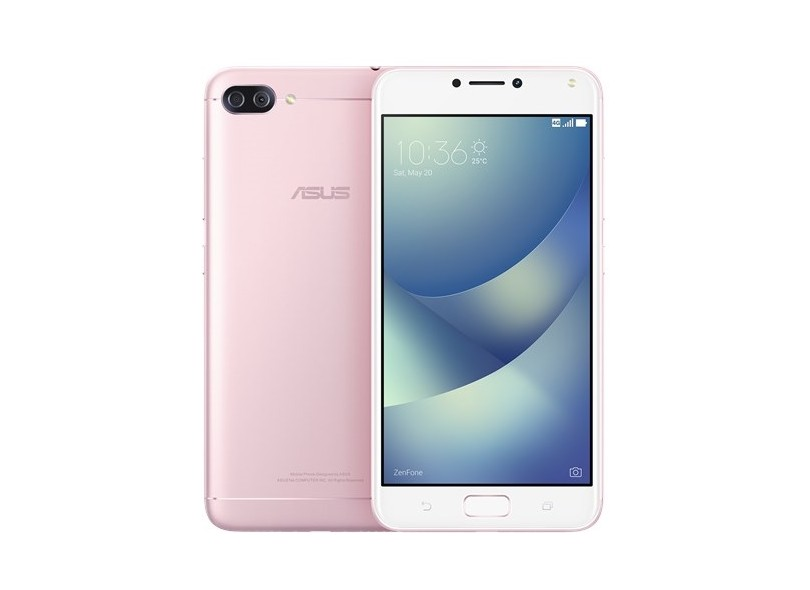 Smartphone Asus Zenfone 4 Max ZC554KL 16GB 13,0 MP 2 Chips Android 7.0 (Nougat) 3G 4G Wi-Fi