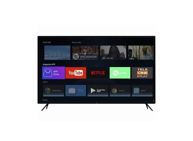 "Smart TV TV LED 55 "" HQ 4K Netflix HQSTV55NY 3 HDMI"