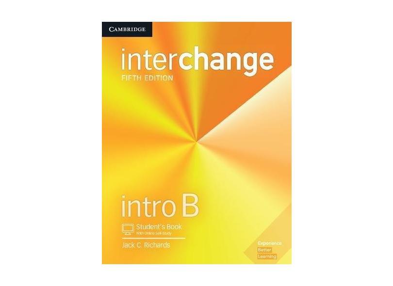 Interchange Intro B Student's Book with Online Self-Study - Jack C. Richards - 9781316620137