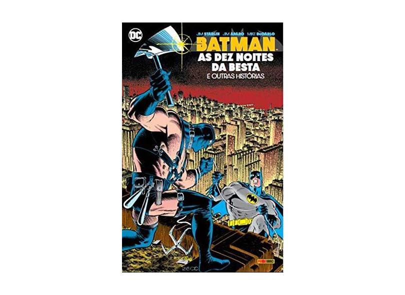 Batman. As Dez Noites da Besta - Jim Starlin - 9788583684039