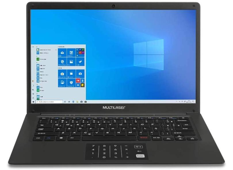 "Notebook Multilaser Legacy Intel Pentium N3700 4 GB de RAM 64.0 GB 14 "" Windows 10 PC310"