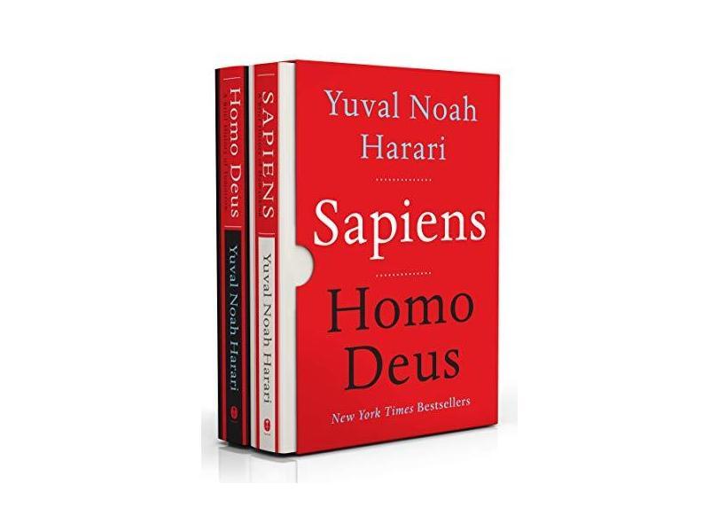 Sapiens/Homo Deus box set - Yuval Noah Harari - 9780062834317