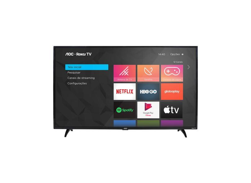 "Smart TV TV LED 32 "" AOC Netflix 32S5195 3 HDMI"
