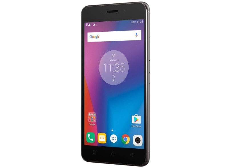 Smartphone Lenovo Vibe K6 16GB K33a48 2 Chips Android 6.0 (Marshmallow) 3G 4G Wi-Fi