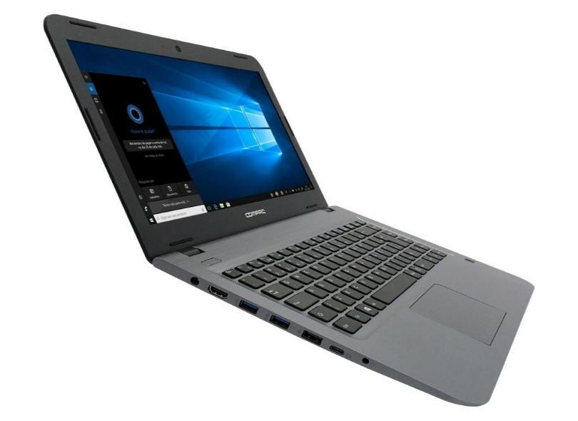 "Notebook Compaq Presario Intel Core i5 7200U 7ª Geração 4 GB de RAM 16.0 GB 500 GB 14 "" Windows 10 CQ-17"