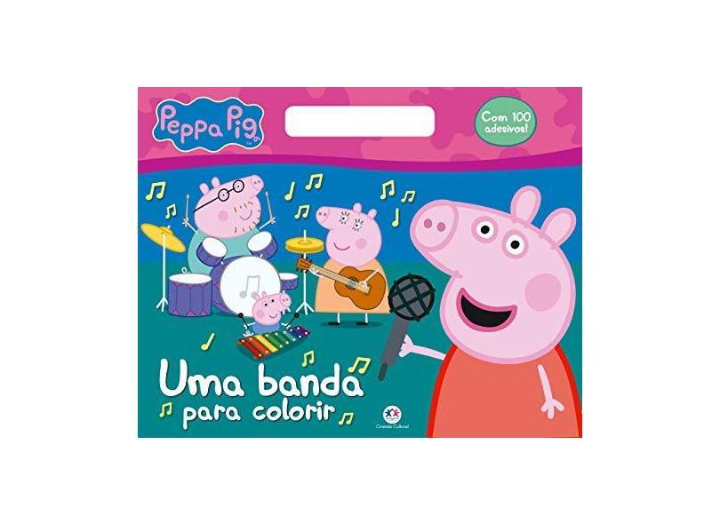 Peppa Pig: uma Banda Para Colorir - Ciranda Cultural - 9788538083948