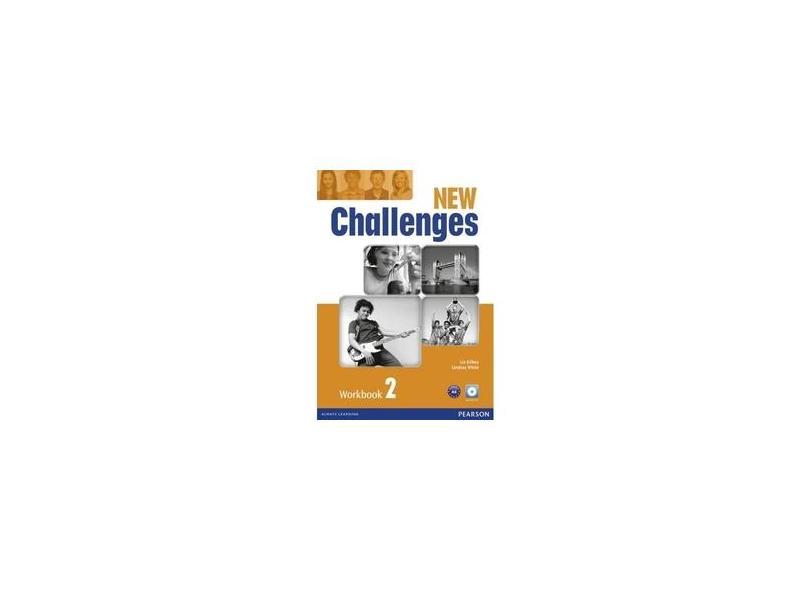 New Challenges - Level 2 - Workbook - With Audio CD - Kilbey, Liz; Kilbey, Liz - 9781408286135