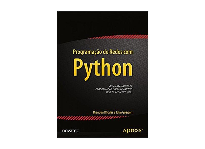 Programação de Redes com Python - Capa Comum - 9788575224373