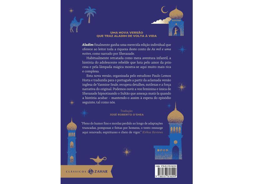Aladim: edição bolso de luxo (Clássicos Zahar) -  Yasmine Seale -  9788537818299