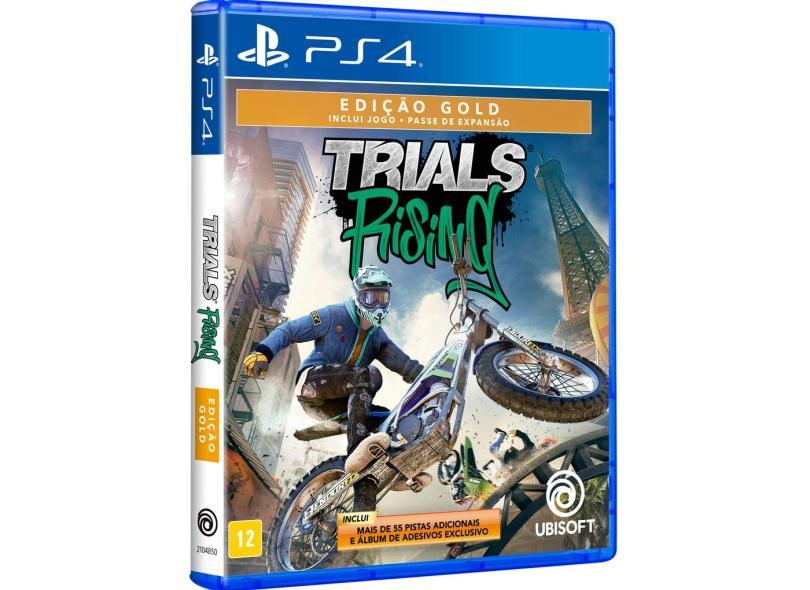 Jogo Trials Rising Edição Gold PS4 Ubisoft