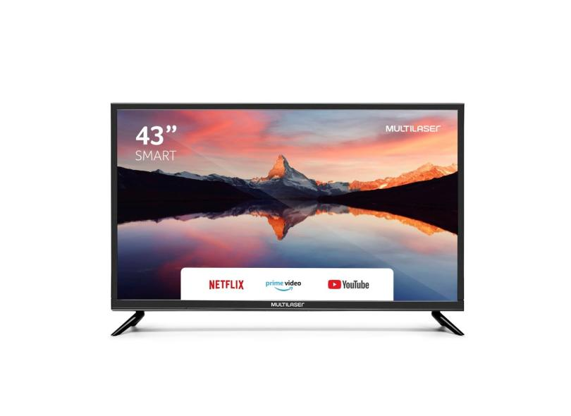 "Smart TV TV LED 43 "" Multilaser Full TL012 3 HDMI"