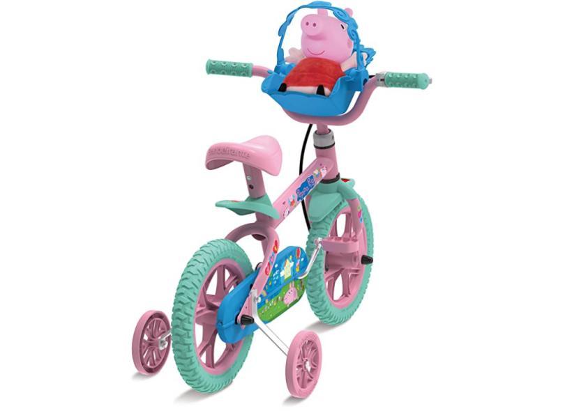 Bicicleta Bandeirante Lazer Peppa Aro 12 Peppa Pig